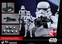 Imagen de Star Wars Rogue One Figura Movie Masterpiece 1/6 Stormtrooper 30 cm