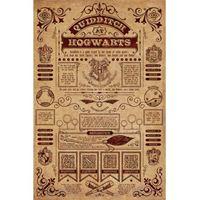 Imagen de Harry Potter Poster Quidditch at Hogwarts