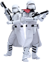 Imagen de Star Wars Episode VII Pack de 2 Figuras Movie Masterpiece 1/6 First Order Snowtroopers