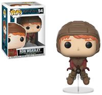 Imagen de Harry Potter POP! Movies Vinyl Figura Ron on Broom 9 cm